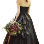 結婚式二次会 黒いドレス ルベッタ